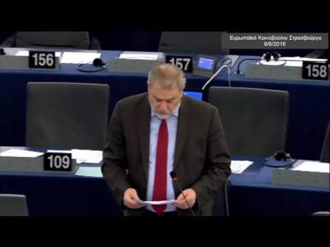 Νότης Μαριάς στην Ευρωβουλή: Μυστική διπλωματία τύπου Μέττερνιχ οι διαπραγματεύσεις για την TTIP