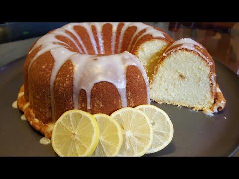 Charlie Andrews Lemon Pound Cake