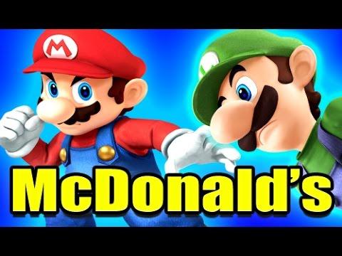 MARIO BROS. & PEACH IN MCDONALD'S! - Gmod Super Mario Bros. Mod (Garry's Mod)