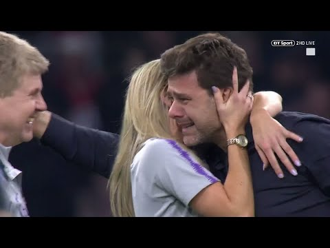 Pochettino In Tears! Incredible Scenes As Spurs Reach Champions League Final!