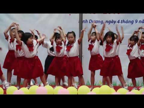 LỄ KHAI GIẢNG NĂM HỌC 2015-2016 - TIẾT MỤC DANCE - LỚP 1 [VIET ANH SCHOOL]