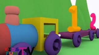 KidsFunTv Kid's Learning Train