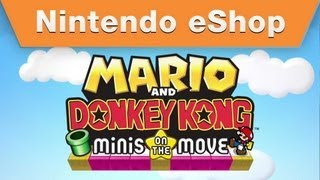 Nintendo eShop - Mario and Donkey Kong Minis on the Move Trailer