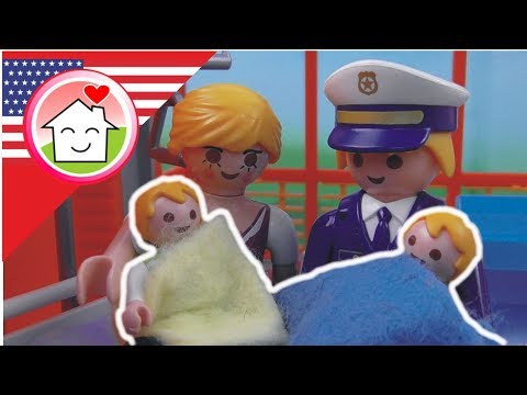 Playmobil video The Twins Are Born - Hauser Family kids cartoons