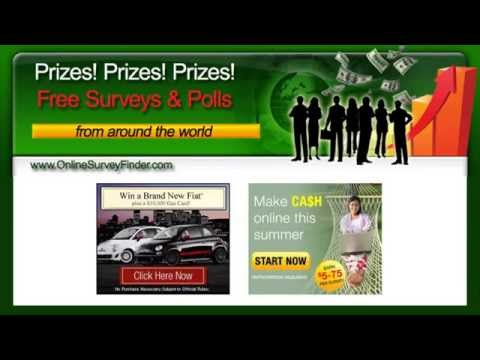 Earn Cash Doing Online Surveys – Free Surveys You Can Do At Home