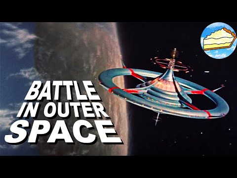 """""""BATTLE IN OUTER SPACE"""" (1959) - TOHO TOKUSATSTU REVIEW/RETROSPECTIVE"""