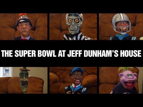 The Super Bowl at Jeff Dunham's House