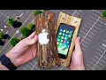 Carved Log Protect iPhone 7 from 100 FT Drop Test?