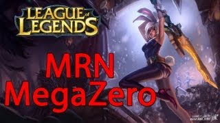 League of Legends - MegaZero Bringing Riven on NA LCS (CLG vs MRN)