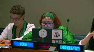 Sarankhukhuu Sharavdorj's Intervention at HLPF 2019: http://webtv.un.org