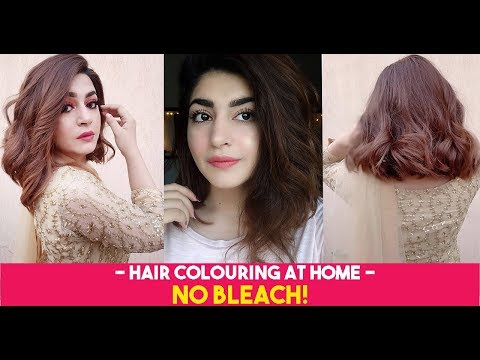 Hair color - MY NEW HAIR COLOUR!!  Easy Black To Brown Hair At Home   GLOSSIPS