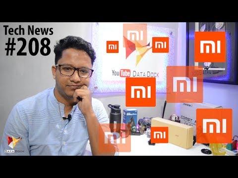 Tech News of The Day #208 - Xiaomi Mi 5X,MIUI 9,Mi AI Speaker,Intex Aqua Power IV,Flipkart Snapdeal