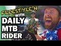 Freestyle'n With Daily MTB Rider | Galbraith Mountain