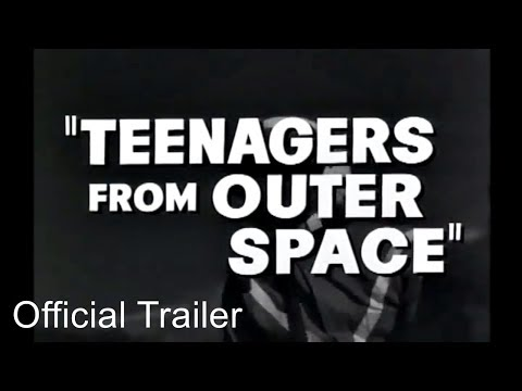 Teenagers From Outer Space 1959 movie trailer