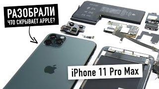 Разобрали iPhone 11 Pro — что скрывает Apple?