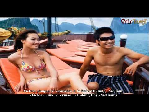 Victory jonque croisière baie d'Halong (Victory junk cruise - Galatourist)
