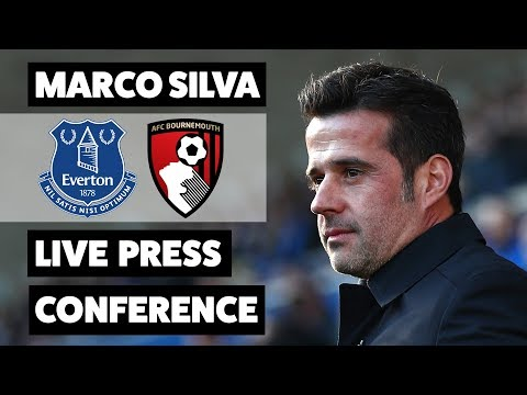 Video: MARCO SILVA DISCUSSES JANUARY TRANSFER WINDOW | EVERTON V BOURNEMOUTH PRESS CONFERENCE