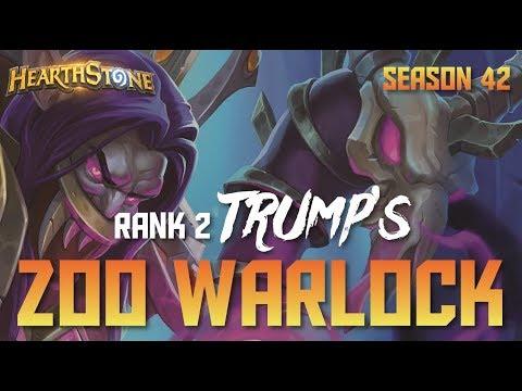Download Trump's Zoo Warlock (Rank 2, Season 42, Live Stream) HD Mp4 3GP Video and MP3