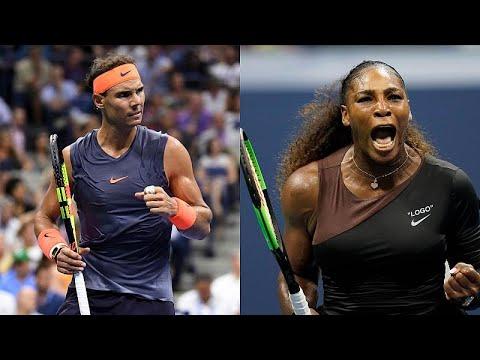 US Open: Νίκες-θρίλερ για Ναδάλ και Γουίλιαμς