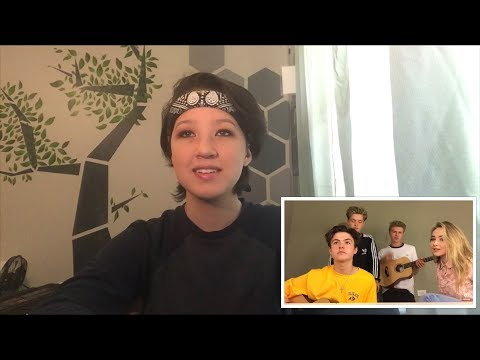 Hands (Cover by New Hope Club ft. Sabrina Carpenter) Reaction!