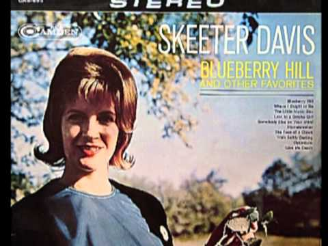 Silver threads and golden needles - Skeeter Davis (with lyrics)