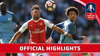 Nonton Arsenal 2 1 Man City   Emirates Fa Cup 2016 17  Semi Final    Official Highlights Film Subtitle Indonesia Streaming Movie Download