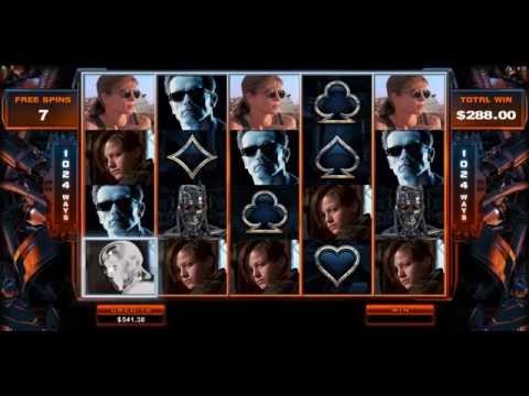 JACKPOT!!! Must See Slot Bonus! Terminator 2 Hot Mode Mega Win Real Money online