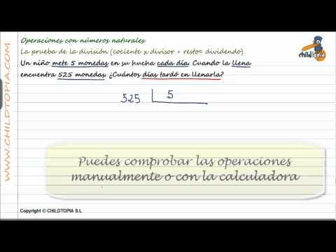 Vídeos Educativos.,Vídeos:Prueba de la división 6