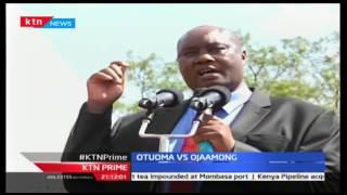 KTN Prime, Busia Mashujaa Fete Turns Political, As Otuoma Criticizes Ojaamong, 20/10/2016