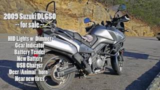 5. Sale: Suzuki V-Strom DL650 ABS Spec'd Out for Adventure Touring!