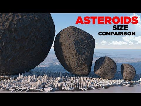 Как астероиды Солнечной системы соотносятся с сооружениями Земли