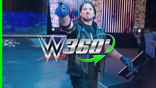 Get a whole new angle on The Phenomenal One's entrance from Raw on February 22nd in Detroit! On mobile? Move your device to experience this video in 360. Mor...