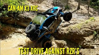 7. Can-Am X3 XRC Test Drive with Can-Am Off-Road & St. Louis Powersports | X3 VS RZR |