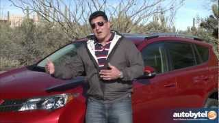 2013 Toyota RAV4 Test Drive&Crossover SUV Video Review