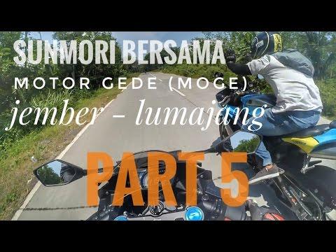 Motovlog 90 - Sunmori Bersama Para Motor Gede (Moge) Jember & Lumajang - Part 5