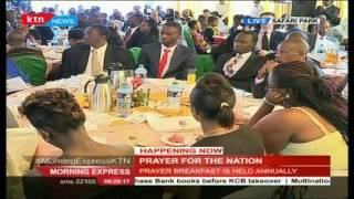 National Assembly Speaker Justin Muturi's Speech During National Prayer Breakfast