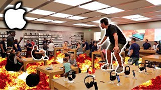 The Ireland Boys went to the APPLE STORE and did THE FLOOR IS LAVA CHALLENGE! We met up with RohanTV and SEGtv ...