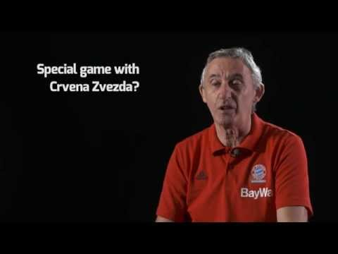 Pre-season Interview: Coach Svetislav Pesic, FC Bayern Munich
