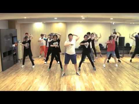 PSY – Gangnam Style mirrored Dance Practice