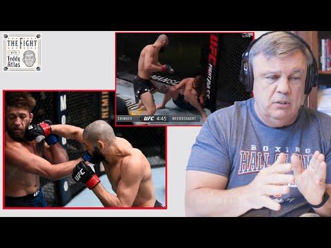 Teddy Atlas technical break down of Khamzat Chimaev's 17 second KO of Gerald Meerschaert   CLIP