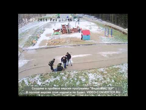 Ижевские полицейские жестко задержали мужчину