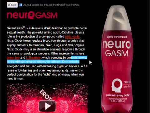 neurogasm - i saw this shit at the grocery store and i had to get it..... it tasted good too... lololol website : http://drinkneuro.com/products/gasm/