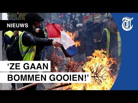 Plunderingen en vernielingen bij protesten in Parijs