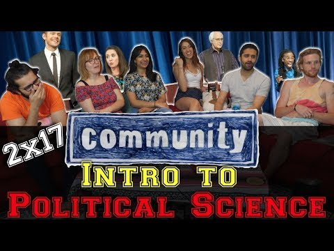 Community - 2x17 Intro to Political Science - Group Reaction