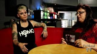 Otep on FemetalTV