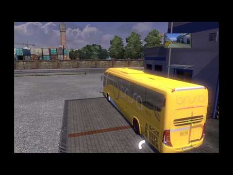 Euro truck simulator 2 Mod bus
