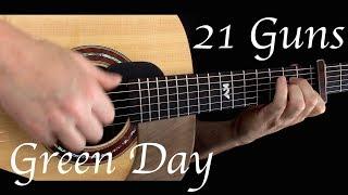Video Green Day - 21 Guns - Fingerstyle Guitar MP3, 3GP, MP4, WEBM, AVI, FLV Mei 2018