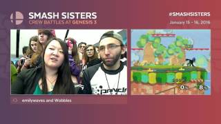 Super Smash Sisters, East Coast v Norcal Genesis 3 Crew Battle