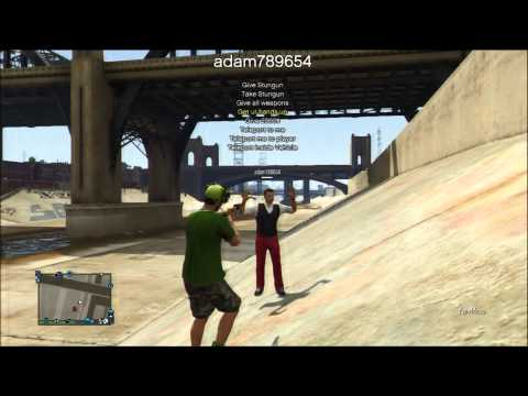 GTA 5 Online: New VCAHaxClient With Animations - Mod Menu PS3 + Download [1.15]
