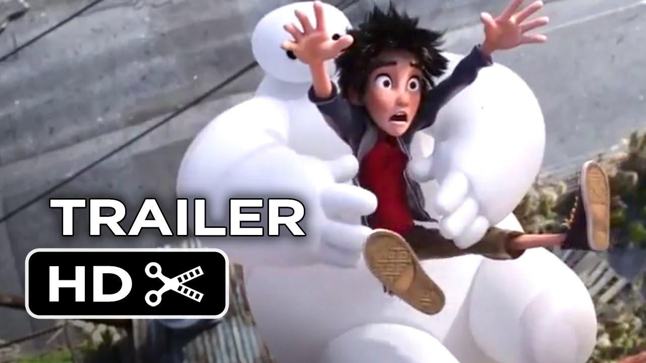 Big Hero 6 Official Trailer #1 (2014) – Disney Animation Movie HD